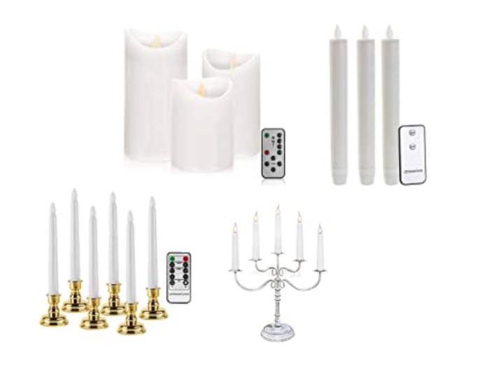 Elektrischer Kerzenleuchter
