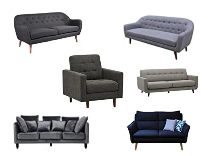 Sofa Mid Century