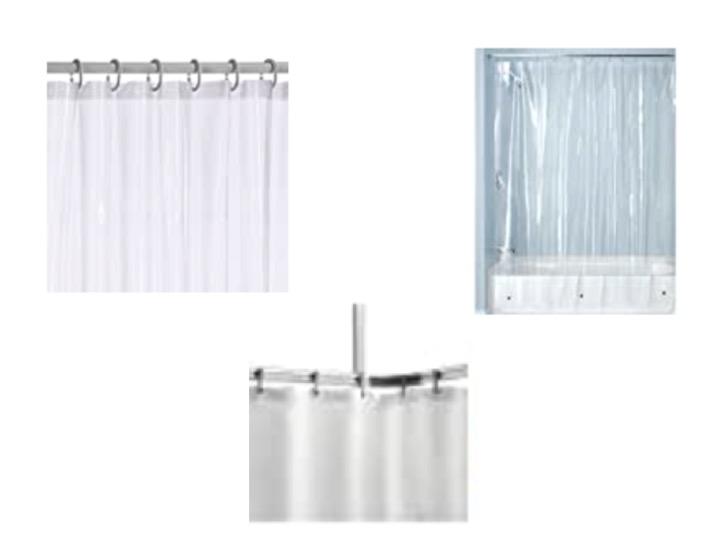 Duschvorhang durchsichtig