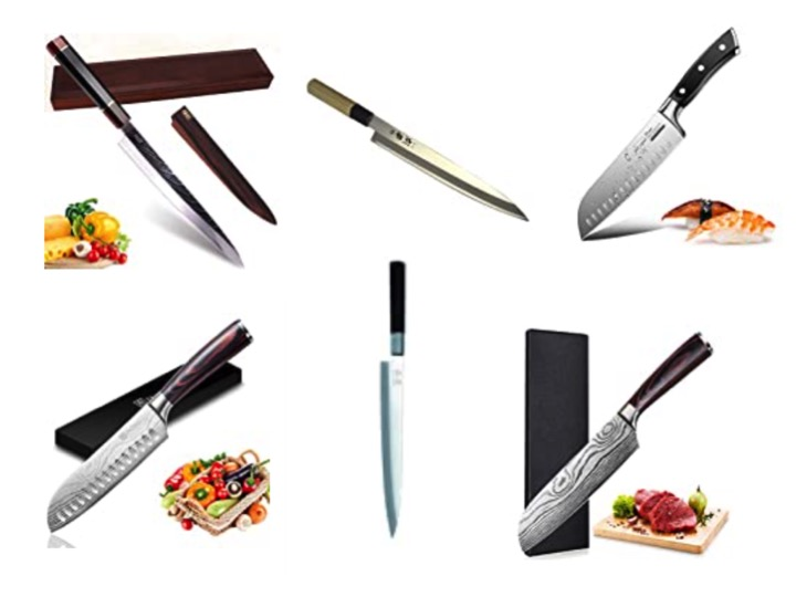 Japanisches Sushi Messer