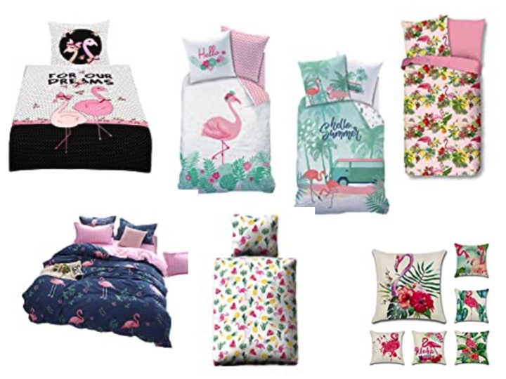 Bettwäsche Flamingo